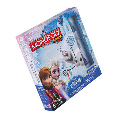 Monopoly Frozen II Board Game -Family Fun Christmas Gift Party Birthday Group