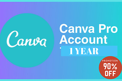 Canva pro subscription 1 year - custom login - PROMOTION