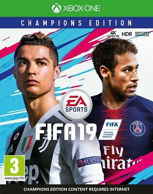 FIFA 19 - Champions Edition (Xbox One)  BRAND NEW AND SEALED - QUICK DISPATCH
