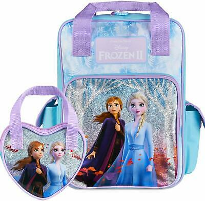 Disney® Official Frozen 2 Backpack For Girls With Elsa & Anna Matching
