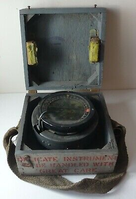 1943 WWII RAF Type P8 navigational compass Ref 6A 0726 as used by Spitfires etc.