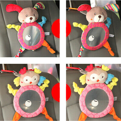 Large Wide View Rear Baby Child Back Seat Car Safety Mirror Headrest Mount LA