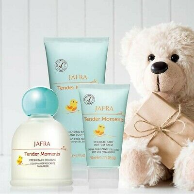 Jafra Trío),Tender Moments Fresh Baby Cologne3.3 OZ ,body and wash.