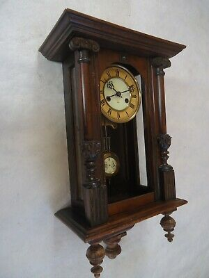 Antique Small Venetian Wall Clock. Spares Or Repair