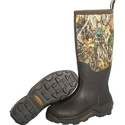 Muck WDM-RTE-RTR-090 Woody Max Mens Size 9 Realtree Edge Camo Hunting Boots