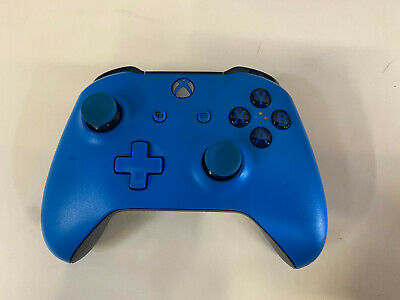 Microsoft Xbox One Wireless Controller - Solid Blue