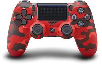 PS4 Sony DualShock 4 Wireless Controller - Red Camo