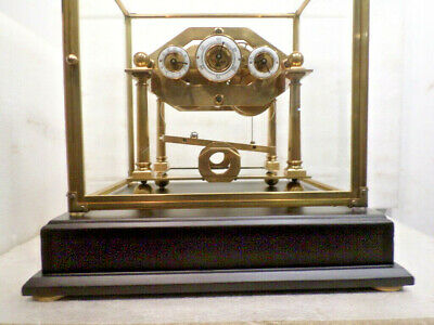 Antique Style Comitti William Congreve Rolling Ball Clock With Front Door Dome