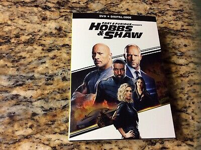 Fast And Furious Presents HOBBS & SHAW - DVD & Digital Code NEW