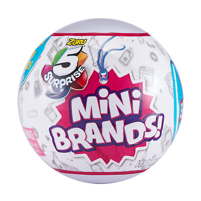 3 Authentic New Sealed Zuru 5 Surprise Mini Brands Balls