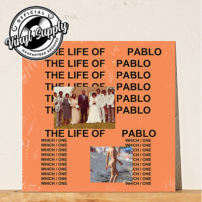 Kanye West - The Life Of Pablo [2LP] Vinyl Sealed Limited Edition