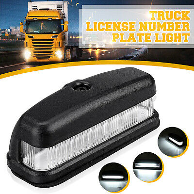 6 Led Rear License Number Plate Light Lamp For Land Rover 90 110 130 Truck  ^ /