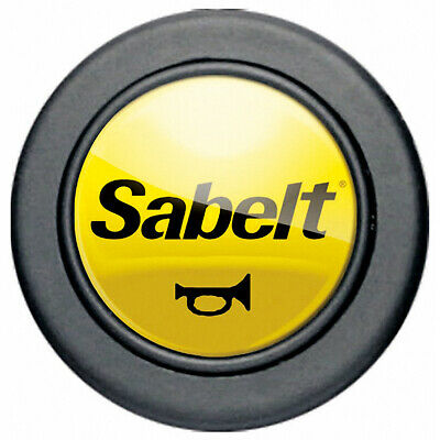 Sabelt P011 Yellow Horn Button Steering Wheel Center