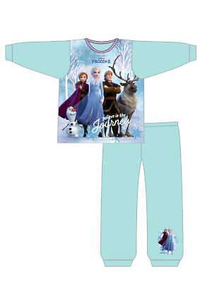 Frozen 2 Pyjamas | Girls Frozen Pyjama Set | Disney Elsa & Anna PJs | Olaf Pjs