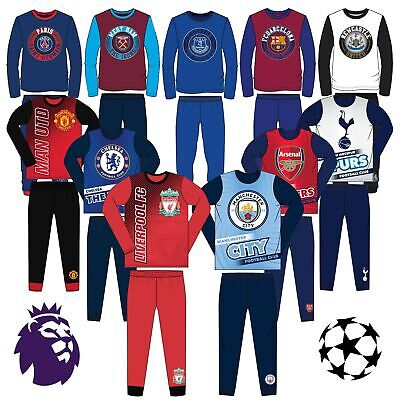 Boys Football Pyjamas | Football Club Pyjama Sets | Childrens Football Pjs | UK