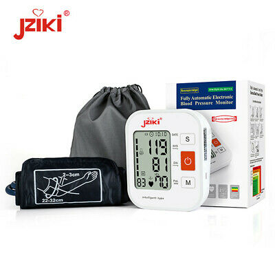 Auto Digital LCD Upper Arm Blood Pressure Pulse Monitor Auto Sphygmomanometer