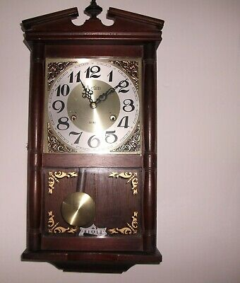 31 ACCTIM Day Wall Clock - With Pendulum & Key