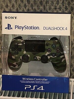 Sony PS4 V2 Wireless Controller - Green Camo