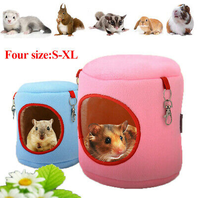 Soft Pet Cozy Guinea Pig Bed House Small Animal Hamster Rat
