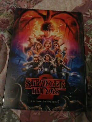 Stranger things season 2 dvd. Brand new. Never been opened