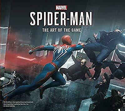 Marvels Spider-Man: The Art of the Game, Paul Davies, New Book