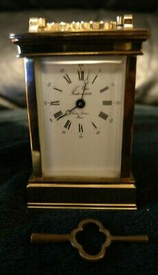Vintage L'epee Sainte-Suxanne French Carriage Clock. Absolutely Stunning.
