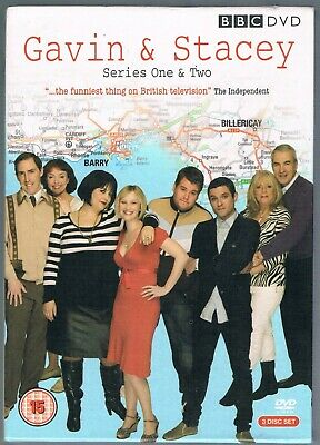 Gavin & Stacey Series 1 & 2 UK DVD Box Set