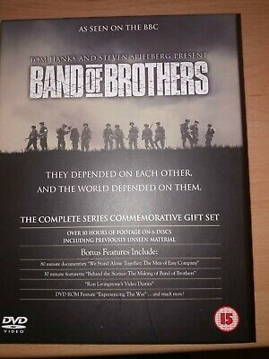 Band Of Brothers (DVD, 2002, 6-Disc Set,) - WW2 classic Like new