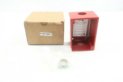 Edwards Gs P-027193 Cast Box For Surface Mounting Fire Pull Stations