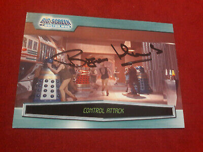 Doctor Who Trading Card Signed by Bryan Hands