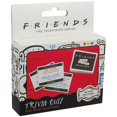 Friends Trivia Quiz Card Game Sitcom Family TV Shows Series Superfan Questions