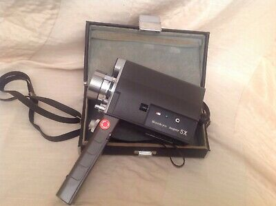 Sankyo Super 5X Vintage movie / cine camera with power zoom.