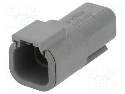 Terminal Connector: Leitung-Leitung Male Plug atm Pin: 4 ATM04-4P Automotive