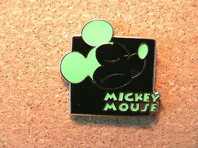 Mickey Disney Pin - Expressions - Mystery Pouch - Hmph! (Green)