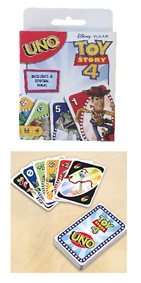 UNO Toy Story 4 Game Card with 112 cards plus Simple Instructions - 2-10 players