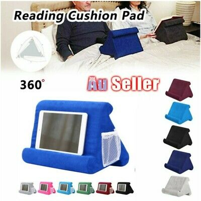 Foldable Laptop Tablet Pillow PC Holder Stand Reading Cushion Pad For iPad NEW !
