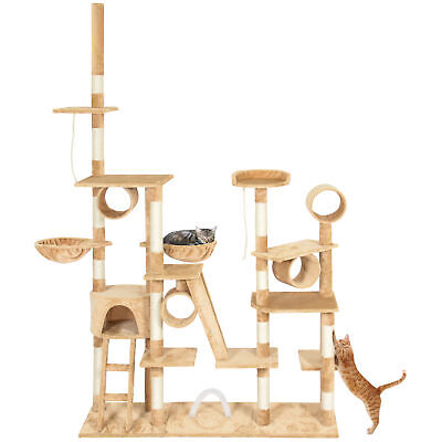 BCP 96in Multi-Level Cat Tree Scratcher Palace Post