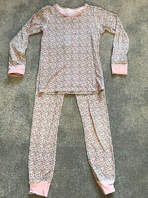 Girls Floral Next Pyjamas Age 7-8 Years