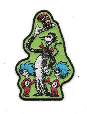 Seuss/' The Cat In The Hat Animated TV Show Hat Embroidered Patch Dr NEW UNUSED