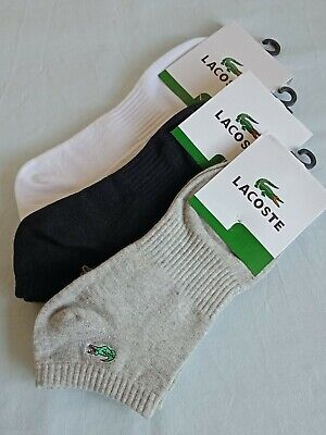 Two Pairs Cotton Lacoste Socks