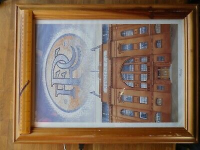Rare Original Rangers FC Print by RFC official Artist Senga Murray