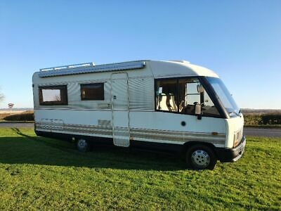 fiat ducato dethleffs globetrotter 6 berth fixed bed