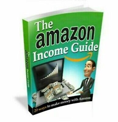 The Amazon Income Guide PDF ebook + 2 Bonus ebooks With Master Resell Rights MRR