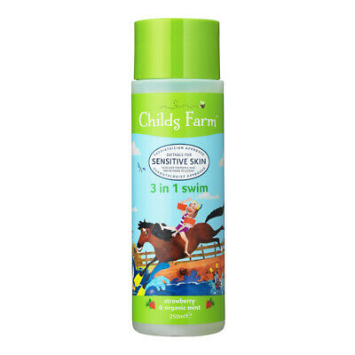 Childs Farm 3in1 Swim - Strawberry & Organic Mint 250ml