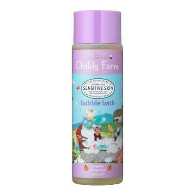 Childs Farm Bubble Bath - Organic Tangerine 250ml