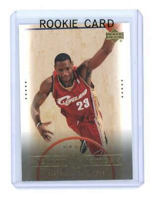 2003 Upper Deck #28 New Reign Lebron James Cavaliers NBA Rookie Card