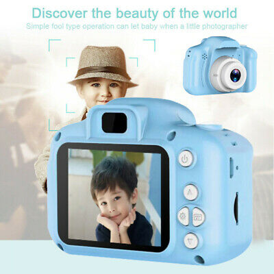 "UK Mini Kids Digital Camera 2.0"" LCD Camcorder Children Boy Girl Birthday Gift"