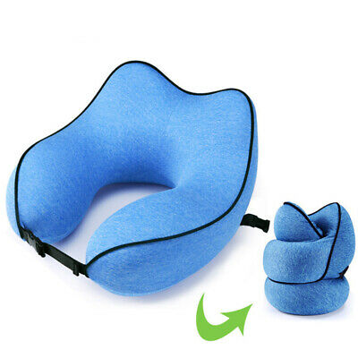 Travel Pillow for Air Planes Neck Support Face Cradle Rest Pillow Cushion Soft