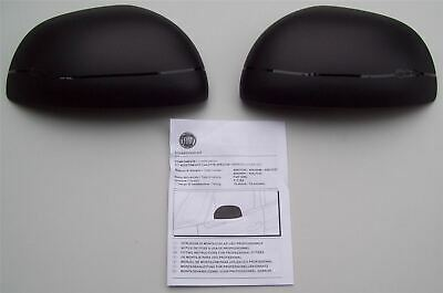 Fiat 500L Black Mirror Covers Kit 50926891