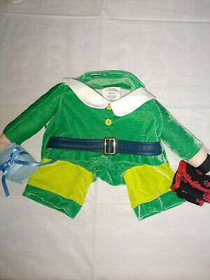 DOG Santa's walking Elf outfit with fake arms Christmas Funny Costume Medium M